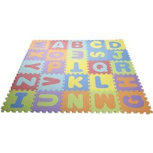 TAPIS ÉVEIL - AIRE BÉBÉ Puzzle tapis mousse 36PCS 32x32 cm Jeu éducatif