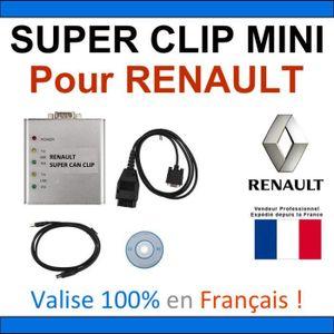OUTIL DE DIAGNOSTIC SUPER CLIP MINI - Valise RENAULT + Multimarques -