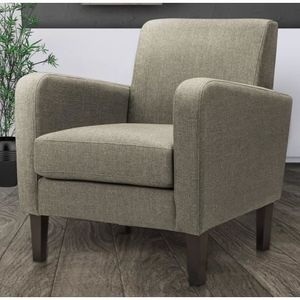 fauteuil tissu taupe achat vente fauteuil tissu taupe pas cher black friday le 24 11 cdiscount. Black Bedroom Furniture Sets. Home Design Ideas
