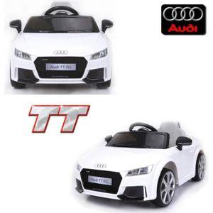 VOITURE ELECTRIQUE ENFANT Voiture électrique enfant de luxe 12 volts Audi TT