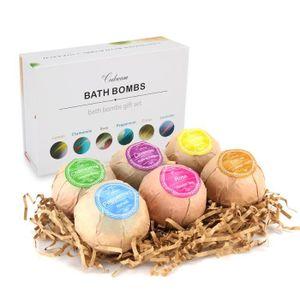 BAIN MOUSSANT - HUILE Codream ®Cosmetics Boules de bain - 6 Pièces Coffr