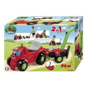 PORTEUR - POUSSEUR ECOIFFIER jouets JARDIN Tracteur Porteur Remorque
