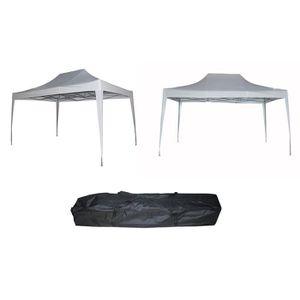 TONNELLE - BARNUM Tente pliante   blanc 3 M x 4,5 M+ sac de rangemen