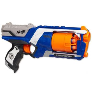 PISTOLET BILLE MOUSSE NERF Elite Strongarm Xd