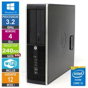 ORDI BUREAU RECONDITIONNÉ PC HP Pro 6300 SFF Core i5-3470 3.20GHz 4Go/240Go