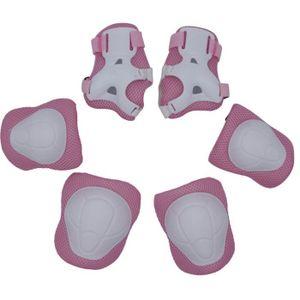 KIT PROTECTION 6Pcs Protecteur de sport pour enfants coudières Po