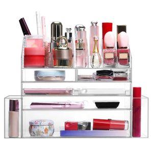 BOITE DE RANGEMENT LANGRIA Boîte de Rangement pour maquillage - 5 Tir