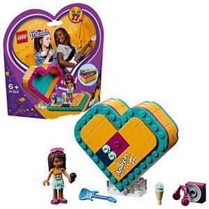 Mia Mini-Poupée et accessoires vacances Collect... Lego 41358 Friends Mia/'s Heart Box Set