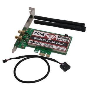CARTE RÉSEAU  Carte réseau, Bluetooth 4.0 Bi-bande 2G/5G 300Mbps