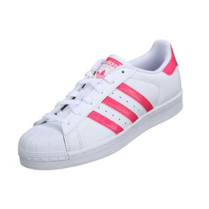 BASKET Basket Adidas Superstar J Db1210 Blanc / Rose