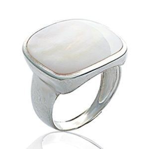 Lab créé 3 mm Filigrane opale blanc bande .925 Sterling Silver Ring Taille 4-10