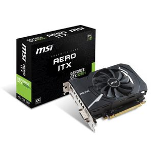 CARTE GRAPHIQUE INTERNE MSI Carte graphique GeForce® GTX 1050 TI AERO ITX