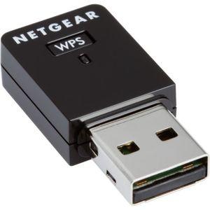 CLE WIFI - 3G NETGEAR Mini-adaptateur USB Wifi. Vitesse n300 Mbp
