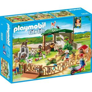 UNIVERS MINIATURE PLAYMOBIL 6635 - City Life - Parc Animalier avec V