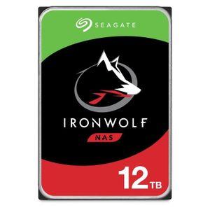 DISQUE DUR INTERNE SEAGATE - Disque dur Interne - NAS IronWolf - 12To