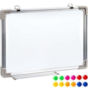 TABLEAU - PAPERBOARD TECTAKE Tableau Blanc Magnétique Effaçable Cadre e