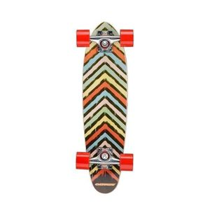 SKATEBOARD - LONGBOARD OSPREY Skateboard Mini Cruiser Splat Adulte
