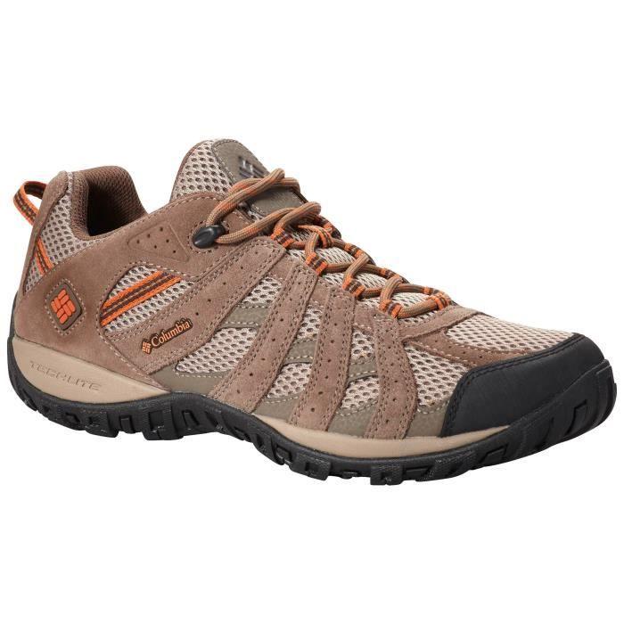 COLUMBIA Chaussures de randonnée Redmond Low - Homme - Marron