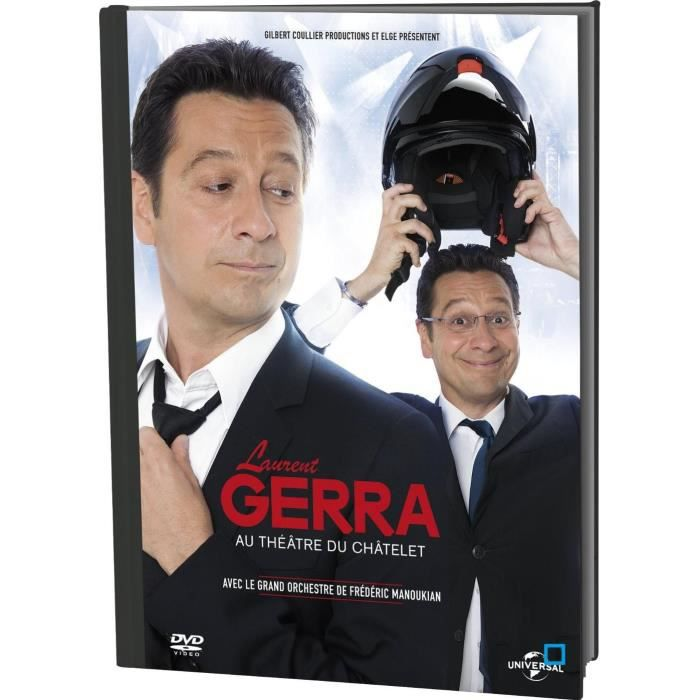 Laurent Gerra - Au Chatelet FRENCH DVDRIP 2014