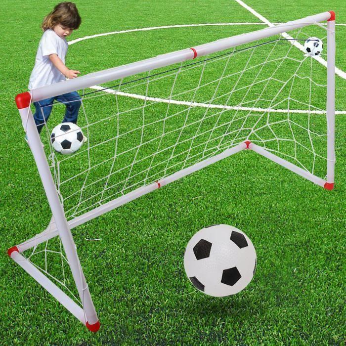 Tbest filet de poteau de but de football Filet de poteau de but de football de football pour enfants en plein air intérieur
