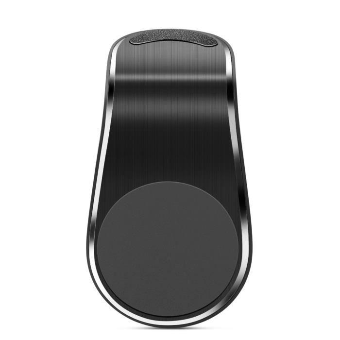 Supports voiture,Support magnétique de téléphone portable, pour Abarth Fiat 500 grande punto, pour Skoda Rapid Octavia - Type Black