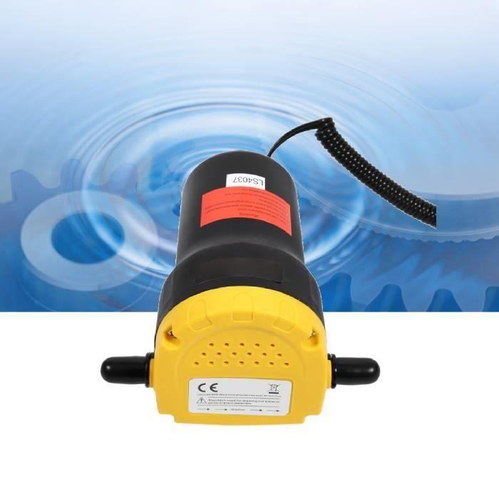Pompe vidange d'huile aspiration électrique d'extracteur de transfert pour bateau de moto de voiture 12V/60W/5A HB051 -BOT