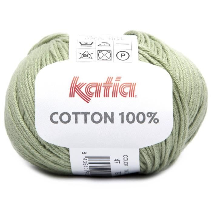 Coton COTTON 100% - Katia 47 Amande