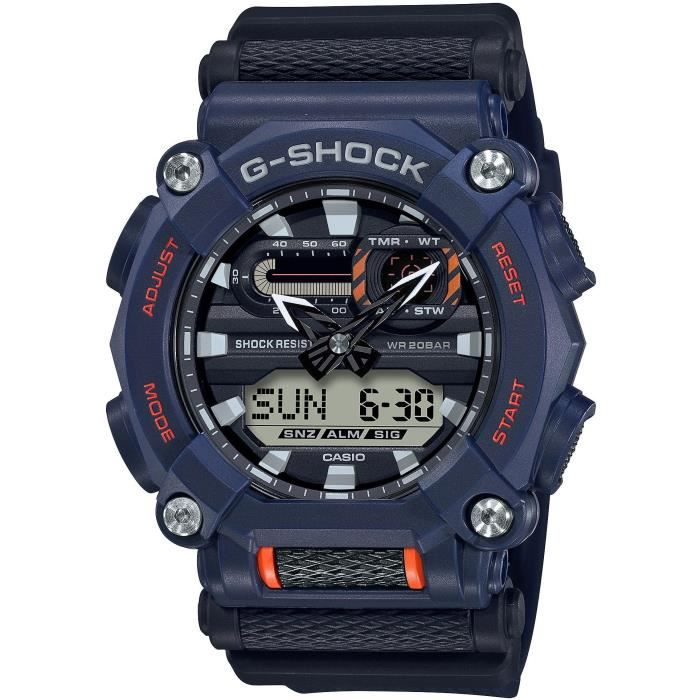 G-SHOCK Montre Quartz GA-900-2AER - Bleu