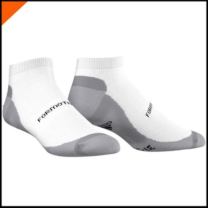 Chaussettes de Tennis LINER 1PP Blanc-Gris F78495
