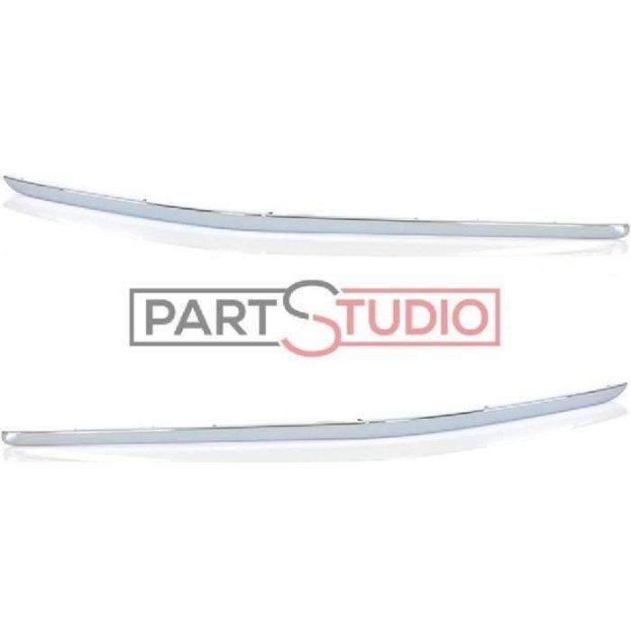 Kit joncs chromés pare choc arrière droite et gauche d origine, Peugeot 407 SW depuis 09/08