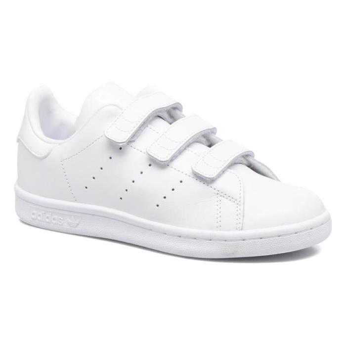 Adidas stan smith à scratch taille 38 blanc BLANC - Achat ...