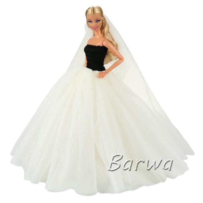 Robe de mariée beige avec voile robe de soiré