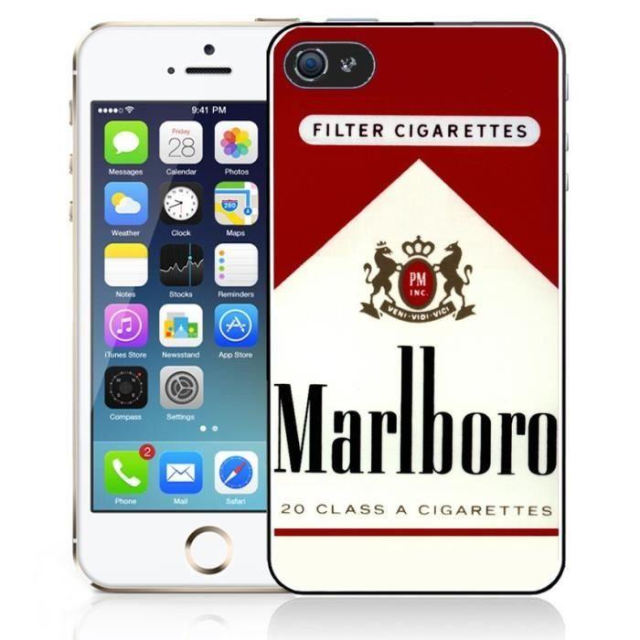 Coque iPhone 6 Marlboro - Cdiscount Téléphonie