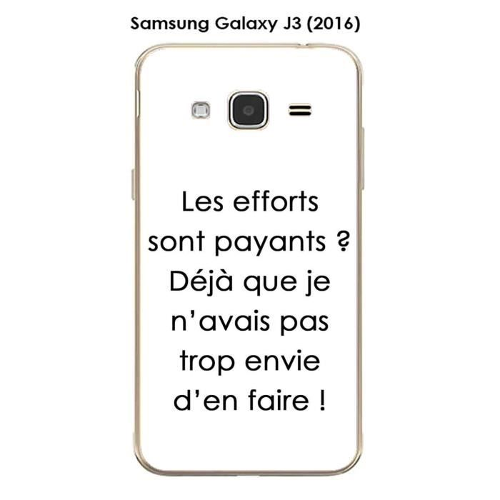 Coque Samsung Galaxy J3 (2016) design Citation