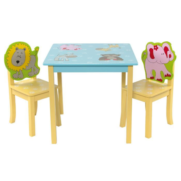 Table et chaises animaux first baby safety achat vente for Table et chaise bebe 2 ans