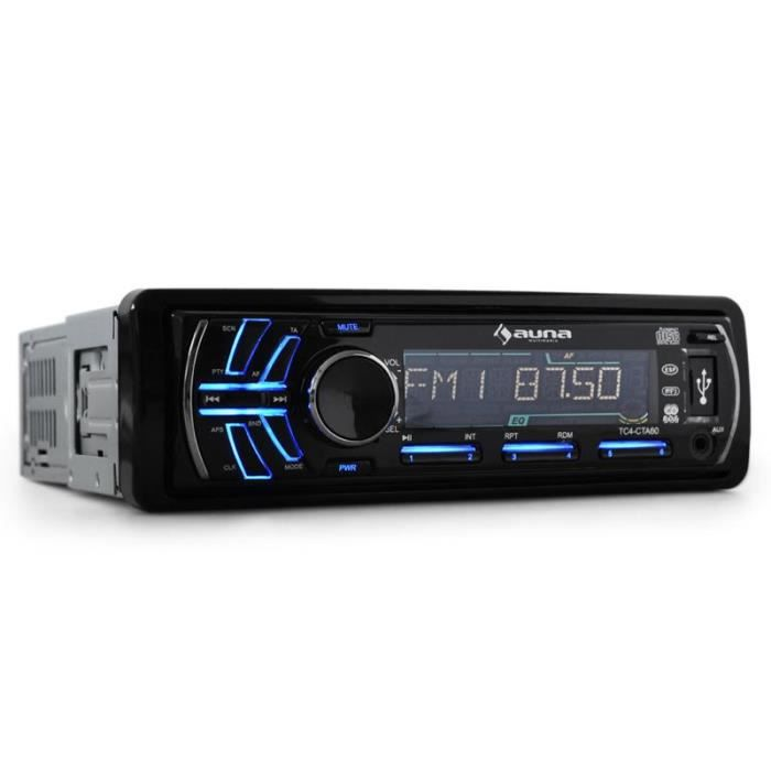 autoradio auna cta 60 lecteur cd mp3 usb sd achat. Black Bedroom Furniture Sets. Home Design Ideas