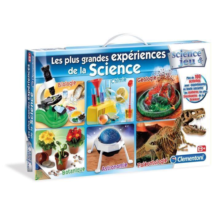 EXPÉRIENCE SCIENTIFIQUE CLEMENTONI Les grandes expériences de la Science