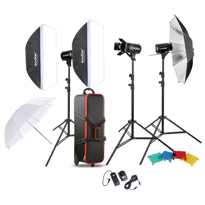 godox kit photo studio lampe d 39 clairage achat vente. Black Bedroom Furniture Sets. Home Design Ideas
