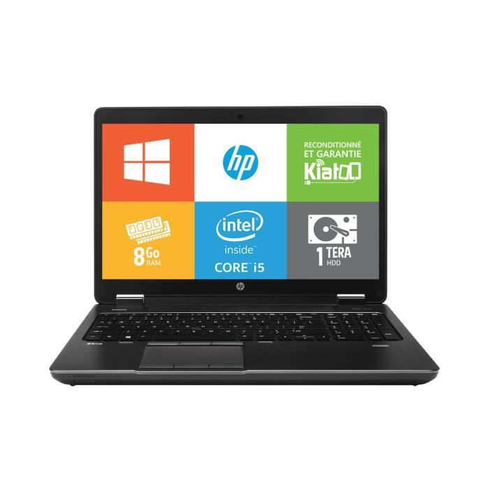 Pc Portable Hpzbook15 Intel Core I5 8go Ram 1to Disque Dur