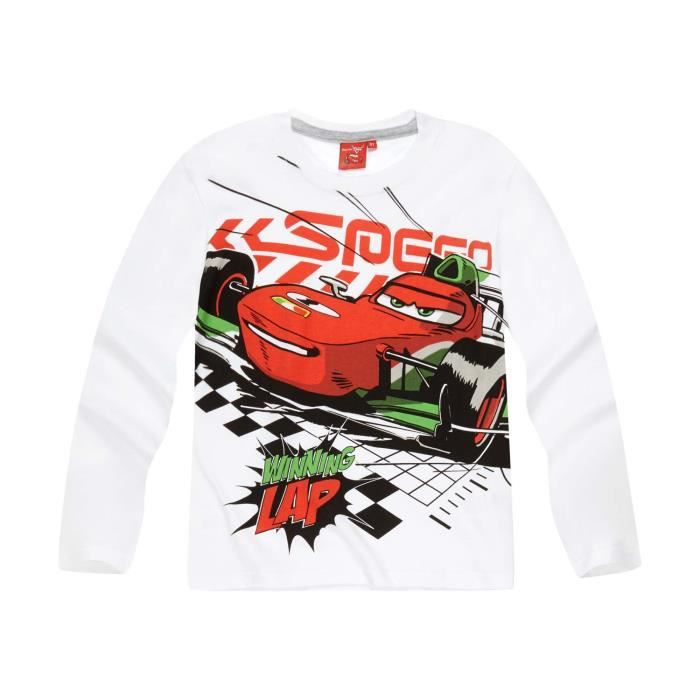 T-SHIRT Disney Cars   Tee-shirt manches longues