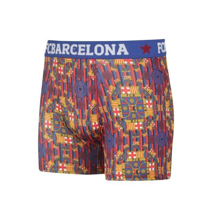 BOXER - SHORTY Boxer FC Barcelone Bleu Mandalas Junior
