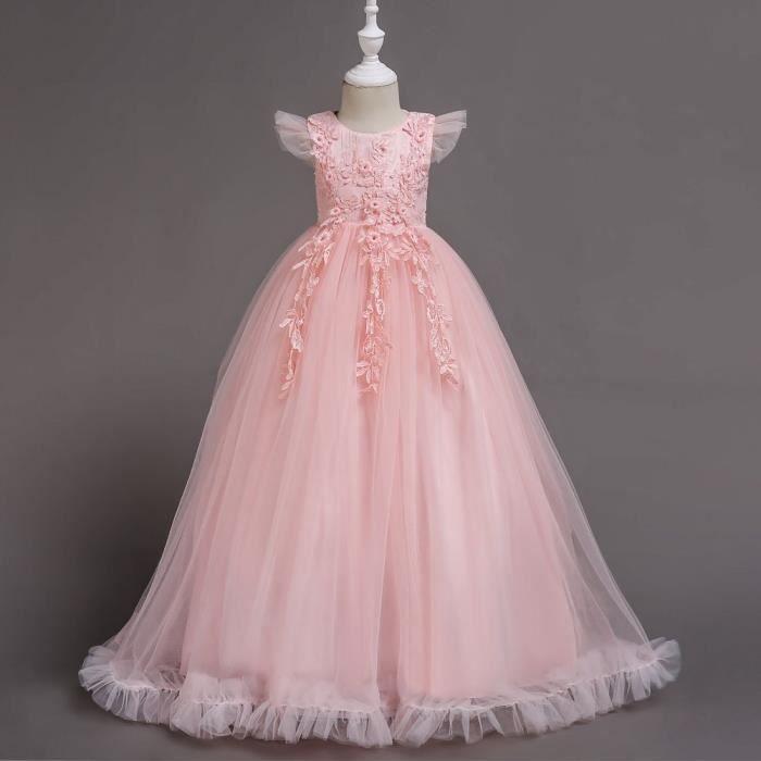 Robe de princesse fille,robe de soirée longue