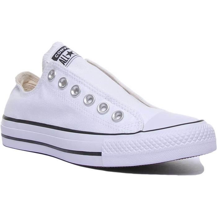 baskets converse blanches femmes sneakers