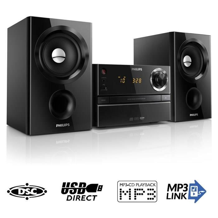 philips mcm1350 micro cha ne hifi cd usb fm chaine hi fi. Black Bedroom Furniture Sets. Home Design Ideas