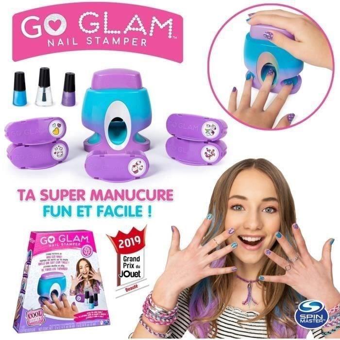 JEU DE MAQUILLAGE COOL MAKER Go Glam Nail Stamper - Manucure