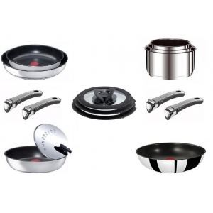 T fal ingenio ensemble gourmet induction inox s achat - Batterie cuisine tefal ingenio induction ...