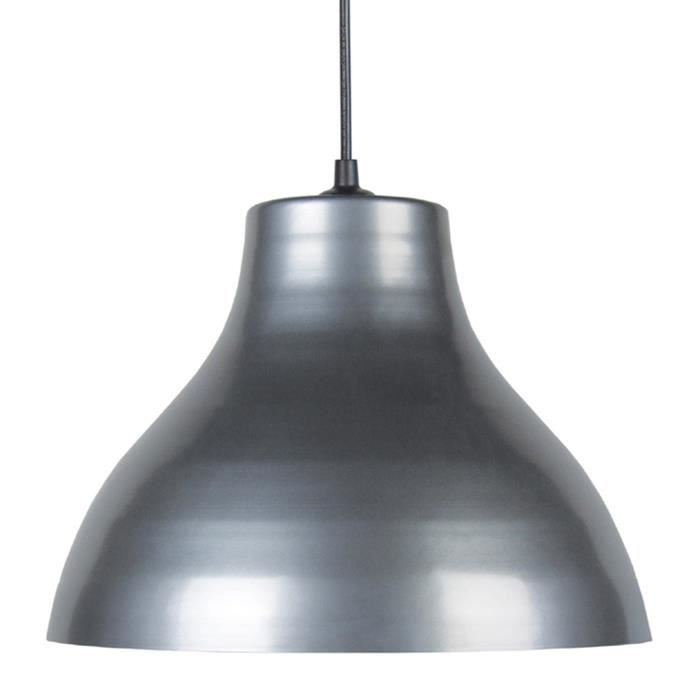 Lustre suspension e27 25 w ø295cm gris