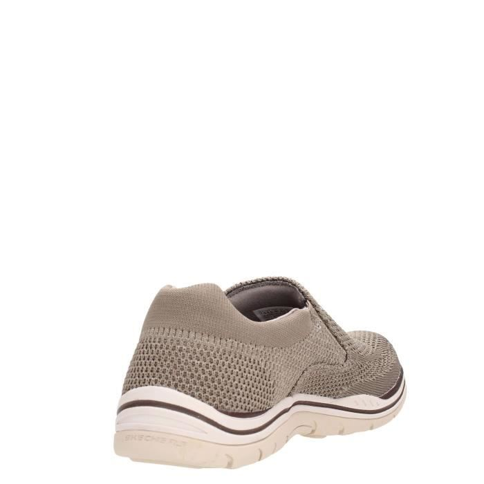 Skechers Slip On Homme Taupe, 42