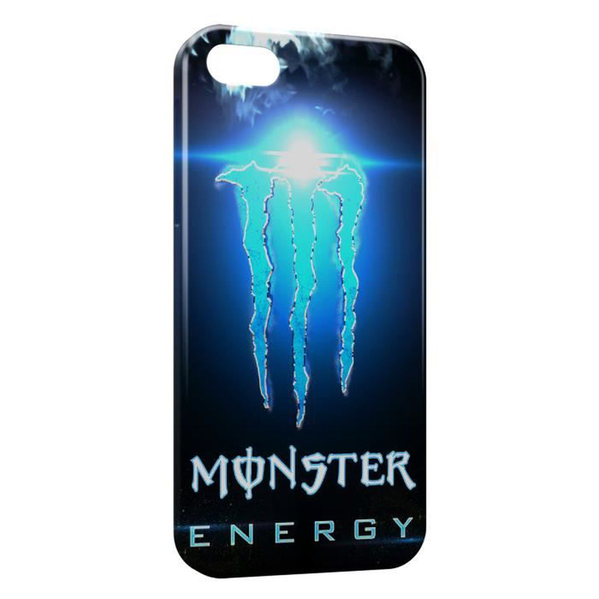coque iphone 6 monster energy blue iced