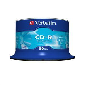 CD - DVD VIERGE Verbatim CDR 80 min 52x (50)